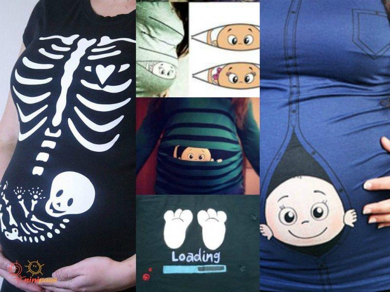 تی شرت های بارداری