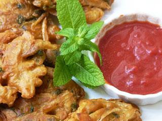 اونیون باجی   Onion Bhaji
