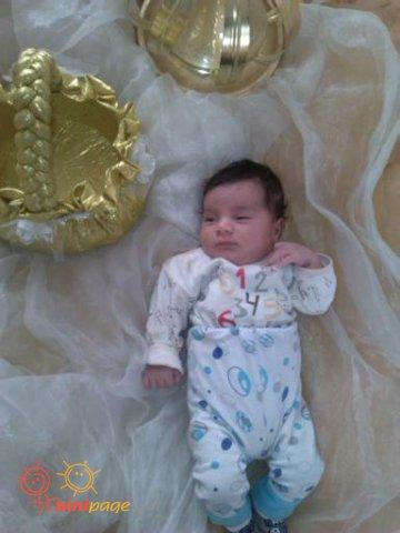 علی احسان در روز عروسی خاله فاطمه