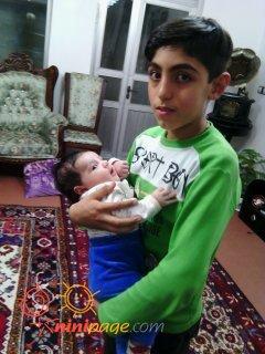 علی احسان و دایی مسعود