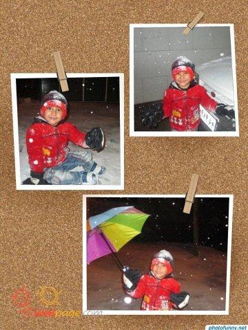 برف بازی عشقم (2)