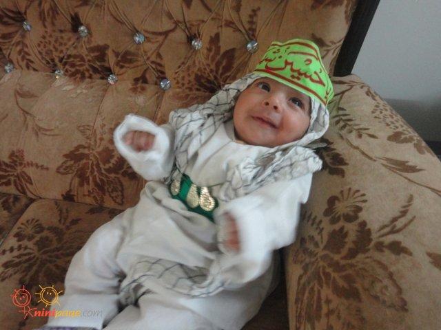 شیرخواره ی من در روز شیر خوارگان حسینی