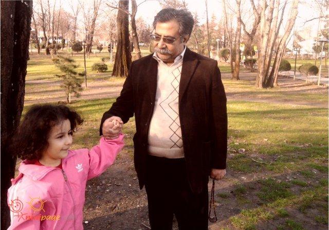 عسل و پدربزرگ