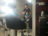 بردیا در آرایشگاه