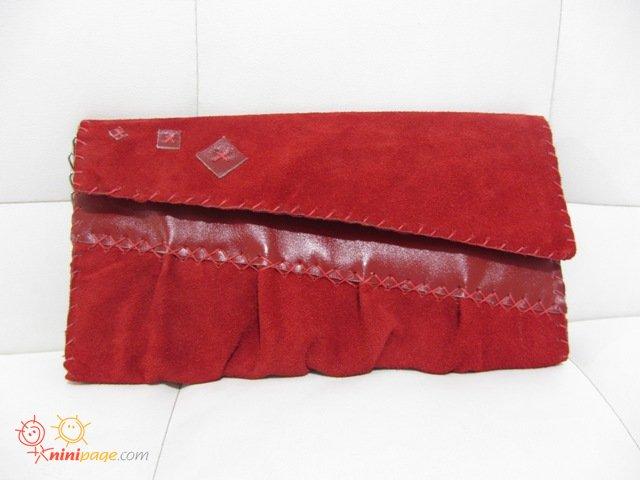 کیف مجلسی شیک قرمز فقط 55 هزار تومان