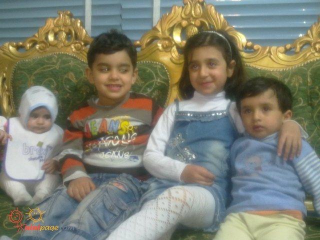 آرش - یاسمن - امیر محمد و الناز کوپولو