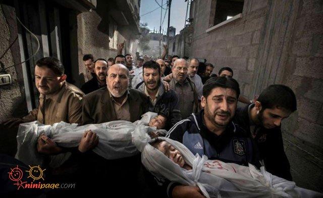 گوشه ای از نامه هنرمندان درباره کودکان غزه