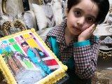 محمدآریای عزیزم و کیک پیش دبستانی رفتن
