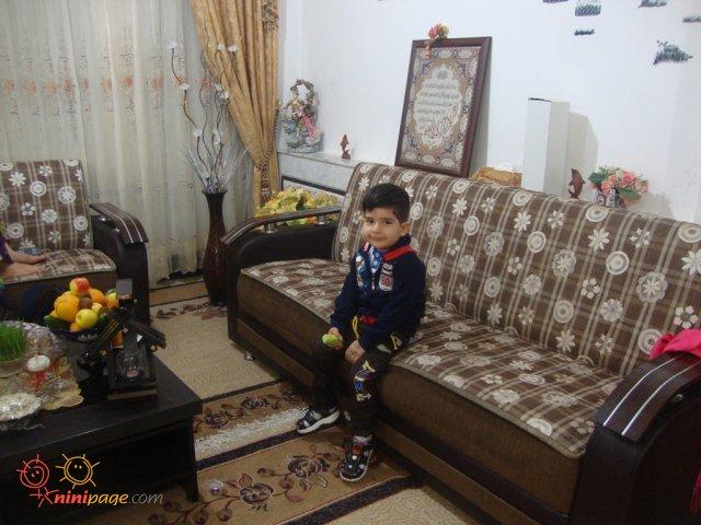 محمد در ساعت تحویل سال 94