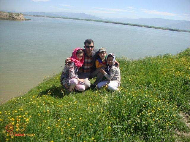 یک روز بهاری در کنار سدگلستان
