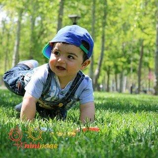 عکس پاییزی پارک ملت مشهد