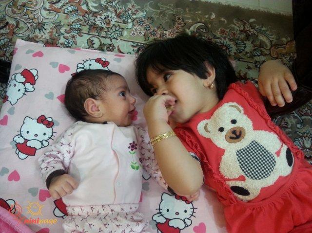 2 خواهر مهربون