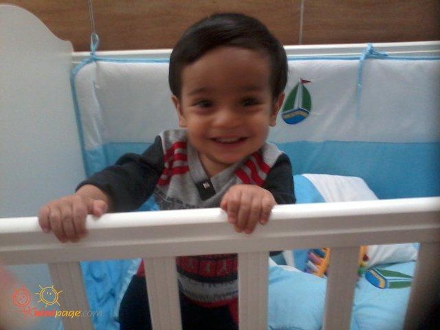 یک عکس خوشگل دیگه از گل پسر ما.............