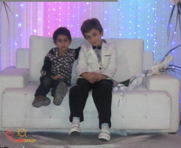 سامیار با دوستش