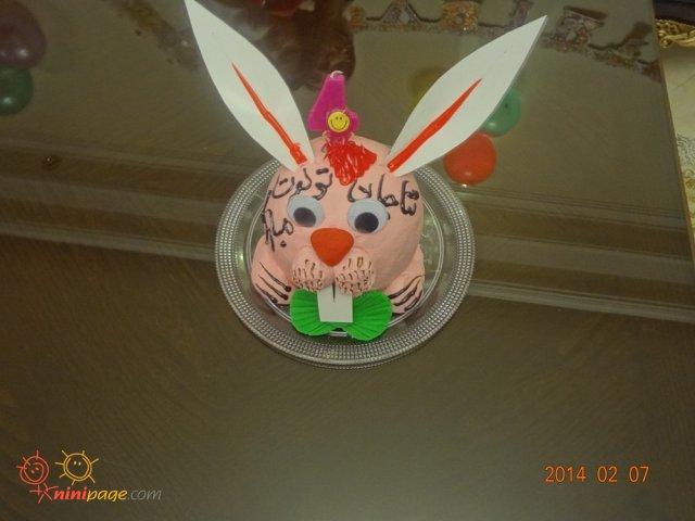 کیک تولد 4 سالگی
