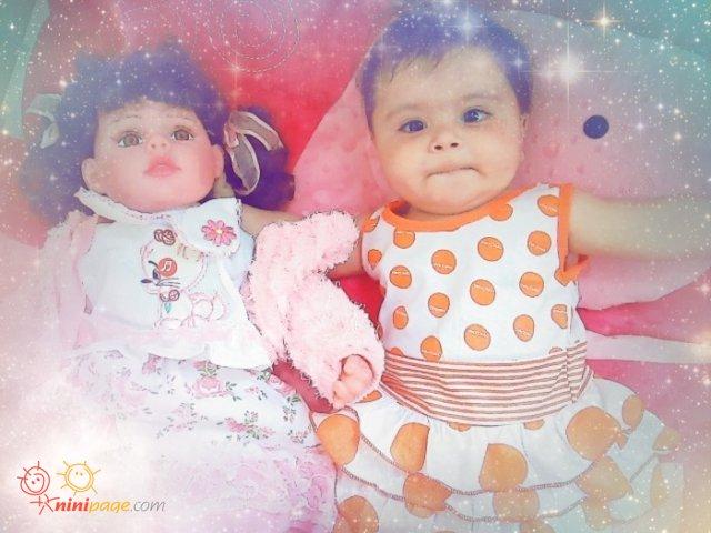 دیانا عاشق عروسک