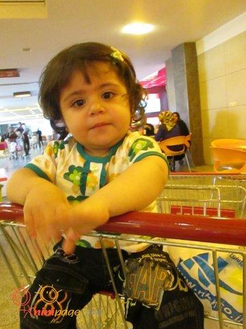 دیانا در فروشگاه هایپر سان