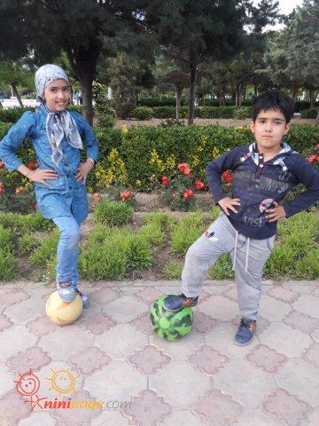 شهریار  در پارک