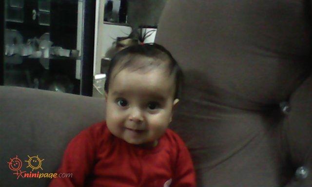 مرسانا در شش ماهگیش