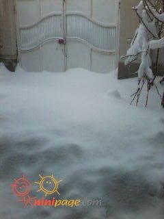 برف بی سابقه امسال