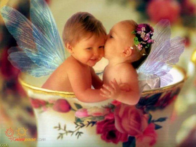 دو فرشته کوچولو