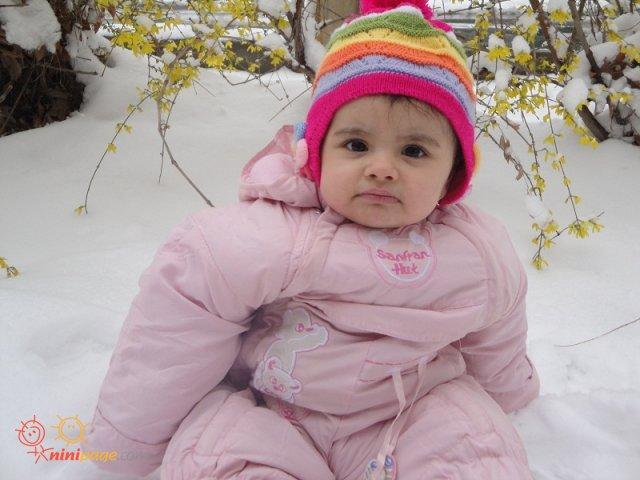 اولین برف یسنا