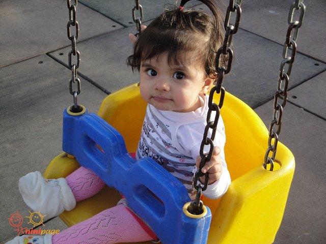 تعطیلات عیدو پارک رفتن یسنا
