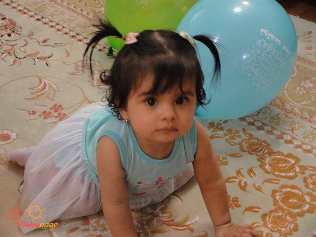 یسنا یک سالشه